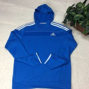 Adidas Running Climalite Pullover Hoodie Sz M